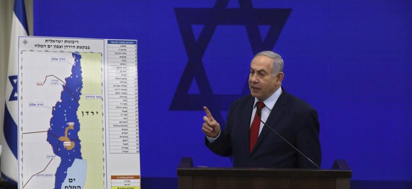 Izraelský premiér Netanjahu chce v prípade znovuzvolenia pripojiť.