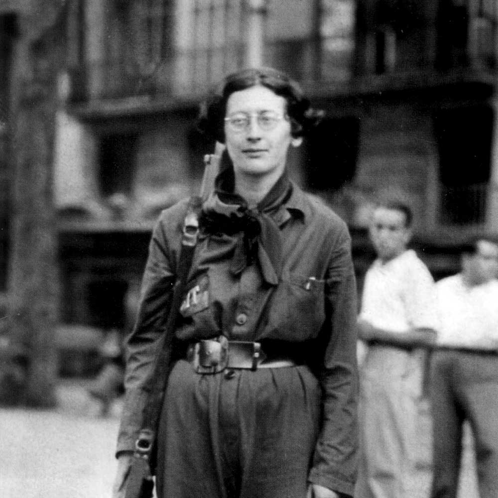 simone weil essay on affliction Justice and impersonality : simone weil on rights and  justice and impersonality : simone weil on rights and  in this essay i try to.